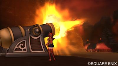 アストルティア防衛軍大砲